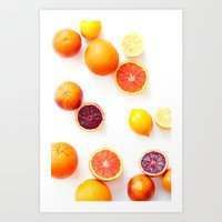 Winter Citrus 1 Art Print