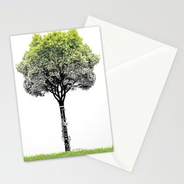 Rooted Sound V (clarinet) Stationery Cards