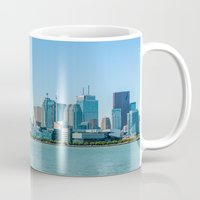 toronto Mugs featuring Toronto  by Slyschoberg