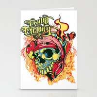 pirate Stationery Cards featuring Pirate by Tshirt-Factory