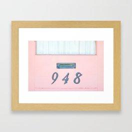 Every Letter Framed Art Print