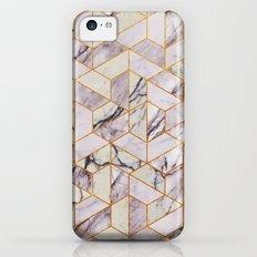 Vintage Marble Art Deco Pattern Slim Case iPhone 5c