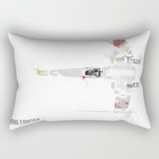 Star Wars Vehicle X-Wing Fighter Rectangular Pillow