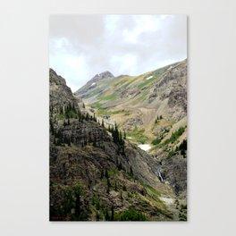 Melting Snows above the Animas River, Near the Eureka Mine Canvas Print