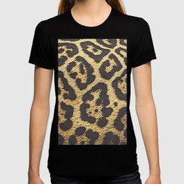 Jaguar fur pattern, big cat T-shirt