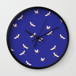Soaring Over Asia Wall Clock