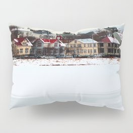 Village Houses Pillow Sham