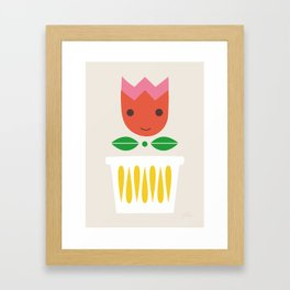 Happy Tulip Framed Art Print