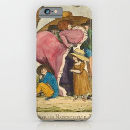 George Stubbs - The Summer Shower, or Mademoiselle Par, a Pluye iPhone Case