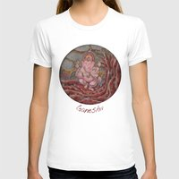 ganesha T-shirts featuring Ganesha by Sincronizarte