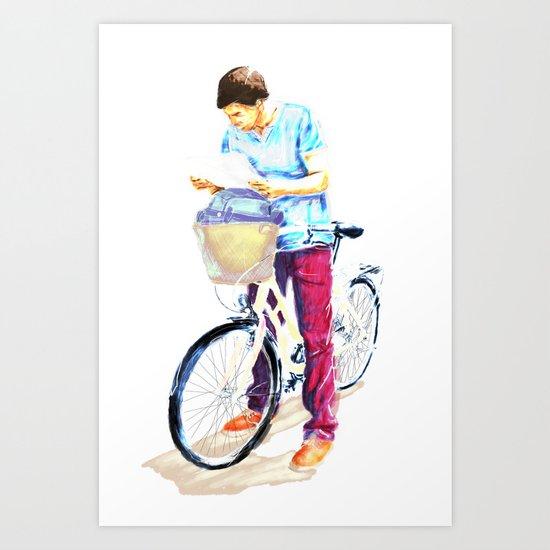 Turista II Art Print
