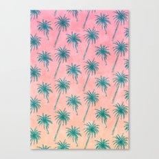 Palm Tree Pattern Canvas Print