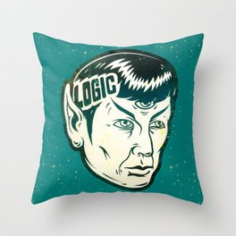 Logical Throw Pillow