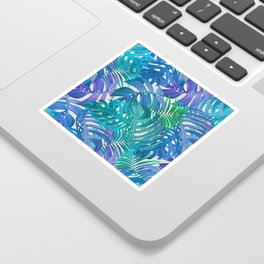 Exotic Palm Leaves Sticker