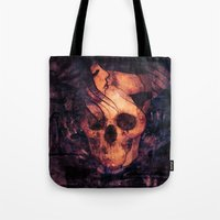 the mortal instruments Tote Bags featuring Mortal Sin by Sirenphotos