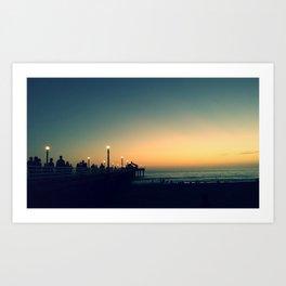 Manhattan Pier Art Print