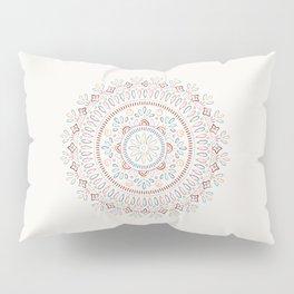 Jardin Mandala - Salmon Pillow Sham