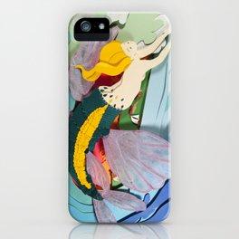 Flying Mermaid iPhone Case