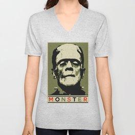 Monster (Boris Karloff) Unisex V-Neck