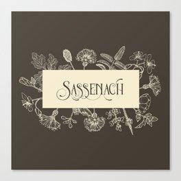 Sassenach in Sepia Canvas Print