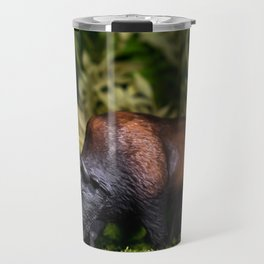 A Bison/Buffalo in lush greenery Travel Mug