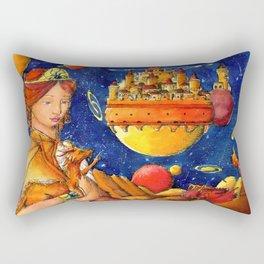 Dragon mother Rectangular Pillow
