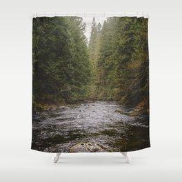 Salmon River II Shower Curtain