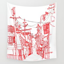Venice Beach Alley Wall Tapestry