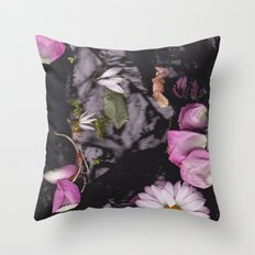 Black/Pink Throw Pillow