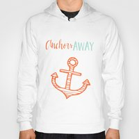 anchor Hoodies featuring Anchor by Zen and Chic