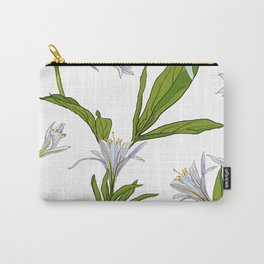 Flowers Lilies Carry-All Pouch