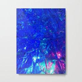 Liquid lights Metal Print