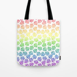 animal crossing villager nook shirt pattern gay pride Tote Bag
