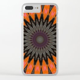 Some Other Mandala 250 Clear iPhone Case