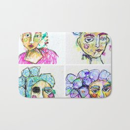 The Four Sisters Bath Mat
