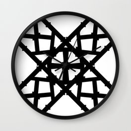 LETTERNS - K - Copperplate Wall Clock