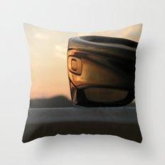 Oakley sunset Throw Pillow