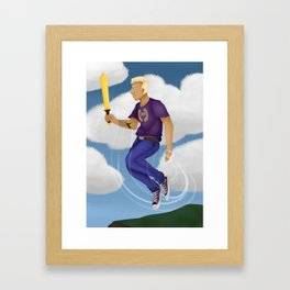 Jason Grace Framed Art Print