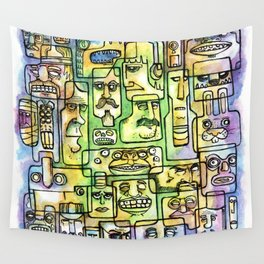 Shape Of Things Wall Tapestry