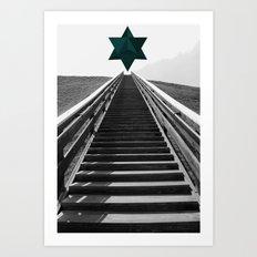 Star Tetrahedron Art Print