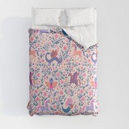 Fairy Folk Floral Comforters