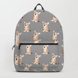 Corgi Waiting Backpack