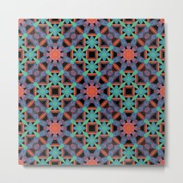 Pattern No. 55 Metal Print