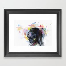 the layers within Framed Art Print