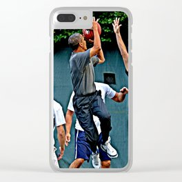 President Barack Obama Takes a Shot Clear iPhone Case