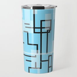 Cap Lines Travel Mug