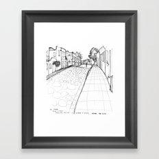 Olinda Framed Art Print