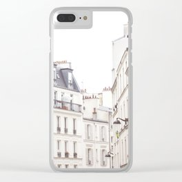 Slightly Paris Clear iPhone Case