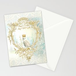 Owl Let it Snow Stationery Cards