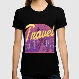 Travel City Art T-shirt